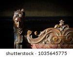 front view closeup detail of... | Shutterstock . vector #1035645775