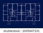 best apartment house floor... | Shutterstock .eps vector #1035647131