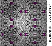vector illustration. seamless... | Shutterstock .eps vector #1035650587