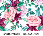 Flower Vector Rose Lily Flower...