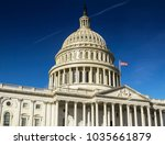 united states capitol building... | Shutterstock . vector #1035661879