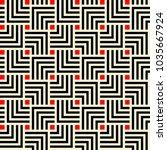 japanese geometric tiling... | Shutterstock .eps vector #1035667924