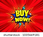 buy now sale banner background. ... | Shutterstock .eps vector #1035669181