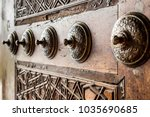 vintage traditional turkish... | Shutterstock . vector #1035690685