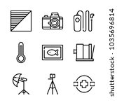 icons camera with underwater...   Shutterstock .eps vector #1035696814