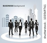 business people | Shutterstock .eps vector #103569761