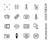 icons camera with no photos ... | Shutterstock .eps vector #1035738529