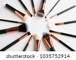 composition with professional... | Shutterstock . vector #1035752914