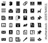 flat vector icon set   cleaner... | Shutterstock .eps vector #1035764011