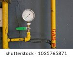 gas detection systems  control... | Shutterstock . vector #1035765871