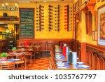 valencia  spain october 16 ... | Shutterstock . vector #1035767797
