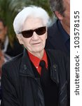 Small photo of CANNES, FRANCE - MAY 21: Alain Resnais poses at 'Vous N'avez Encore Rien Vu' Photocall during the 65th Annual Cannes Film Festival at Palais des Festivals on May 21, 2012 in Cannes, France.