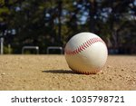 playing baseball at local park | Shutterstock . vector #1035798721