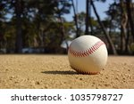 playing baseball at local park | Shutterstock . vector #1035798727