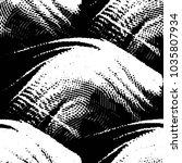black and white grunge stripe... | Shutterstock . vector #1035807934