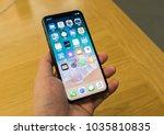 hong kong  february 15  2018  ... | Shutterstock . vector #1035810835