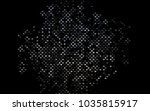 dark black vector low poly... | Shutterstock .eps vector #1035815917