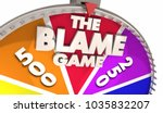 the blame game deflect... | Shutterstock . vector #1035832207