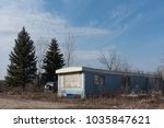 Abandoned Mobile Home On A...