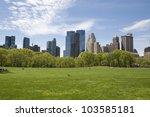 new york city  central park | Shutterstock . vector #103585181