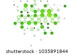 light green vector cover with... | Shutterstock .eps vector #1035891844