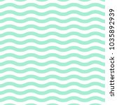 wave lines pattern background | Shutterstock .eps vector #1035892939