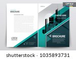 front and back cover of a... | Shutterstock .eps vector #1035893731