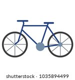 bicycle vector illustration | Shutterstock .eps vector #1035894499