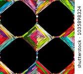 mandala knitting  seamless... | Shutterstock .eps vector #1035898324