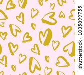 vector seamless pattern. simple ... | Shutterstock .eps vector #1035899755