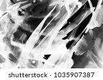 black and white abstract... | Shutterstock . vector #1035907387