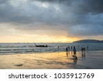 krabi thailand   2 feb 2018 ... | Shutterstock . vector #1035912769