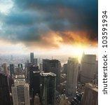 modern cityscape skyscraper on... | Shutterstock . vector #103591934