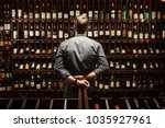 Bartender Wine Cellar Full Bottles - Fine Art prints