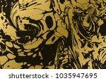 gold marbled texture. golden...   Shutterstock .eps vector #1035947695