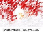 light blue  red vector of small ... | Shutterstock .eps vector #1035963607
