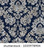 batik tie dye texture repeat... | Shutterstock . vector #1035978904