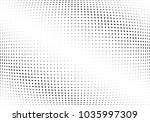 abstract halftone wave dotted... | Shutterstock .eps vector #1035997309