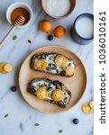 delicious homemade wholemeal... | Shutterstock . vector #1036010161