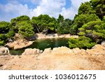 there is a nude beach on lokrum ... | Shutterstock . vector #1036012675