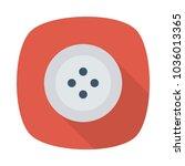 stud shirt button  | Shutterstock .eps vector #1036013365