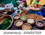 thai national food   Shutterstock . vector #1036017529