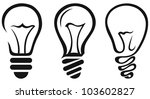 light bulb. vector   Shutterstock .eps vector #103602827