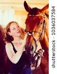 animal  horsemanship concept....