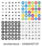 transport icons set   travel... | Shutterstock .eps vector #1036043719