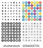 sports icons set   play sign... | Shutterstock .eps vector #1036043731