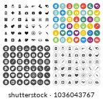 health   medical icons set  ... | Shutterstock .eps vector #1036043767