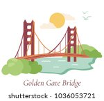 welcome to san francisco.... | Shutterstock .eps vector #1036053721