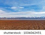 bekaa valley. baalbek lebanon  | Shutterstock . vector #1036062451