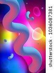 dark multicolor vertical... | Shutterstock . vector #1036087381